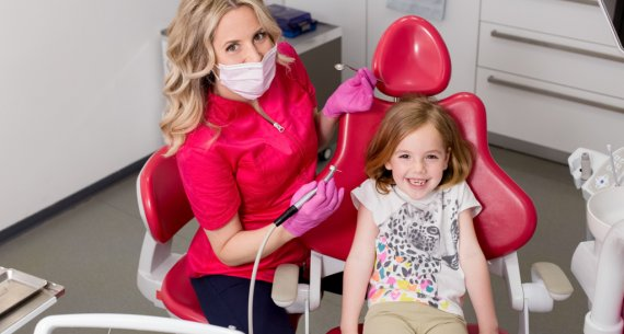 What's the earliest we can start cleaning children's teeth?